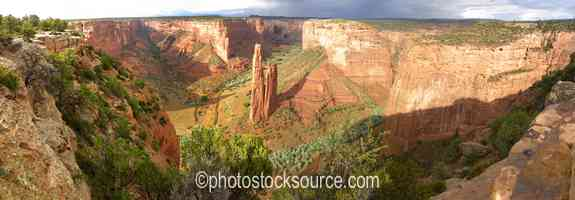 Spider Rock Overlook