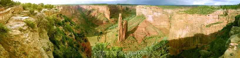 Spider Rock Overlook