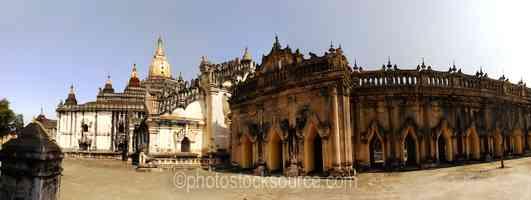Ananda Pagoda Courtyard