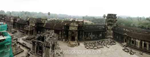 Angkor Wat Upper Courtyard
