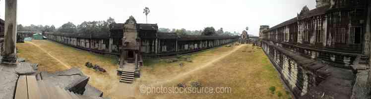 Angkor Wat Outer Courtyard