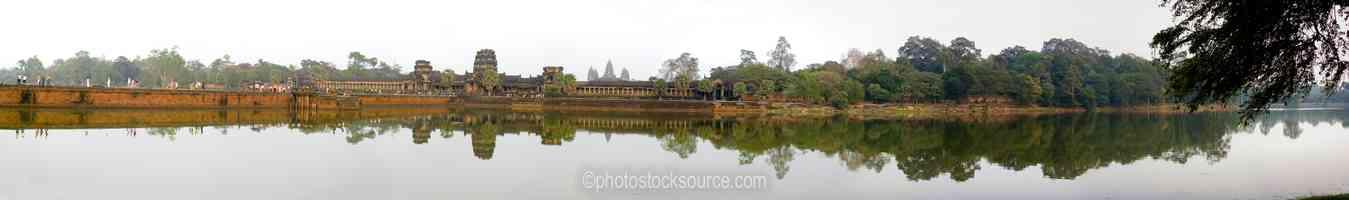 Angkor Wat West Moat