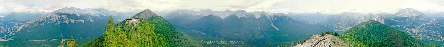 Banff from Sulfur Mt.