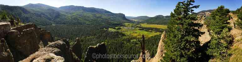 Wolf Creek Pass Overlook