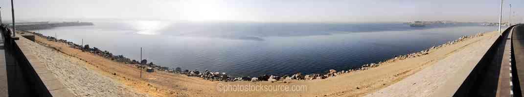 High Aswan Dam Lake Nassar