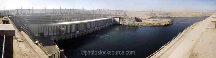 Aswan High Dam Outflow