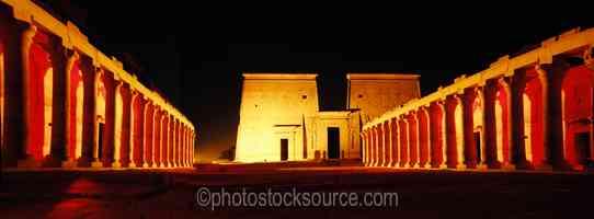 Philae Temple Lightshow