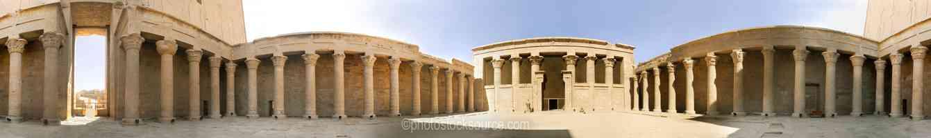 Courtyard Columns
