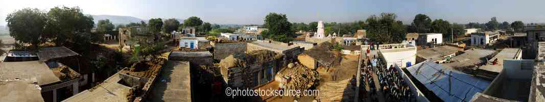 Village Roof Tops
