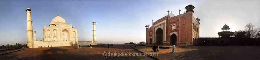 Taj Mahal and Jawab