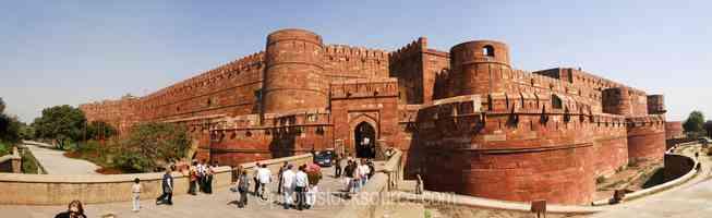 Agra Fort Amar Singh Gate