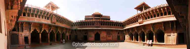 Jehangir Palace Courtyard