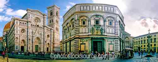 The Duomo and Babtistry