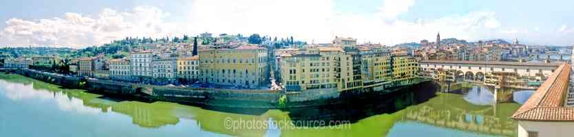 Arno River Ponte Vecchio