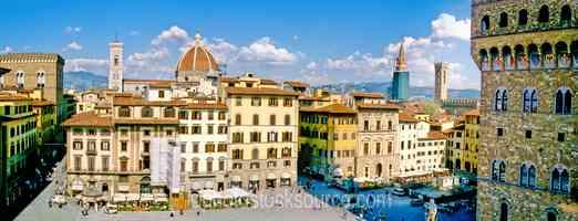 Duomo from Uffizi Gallery