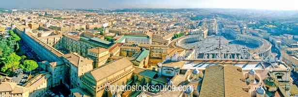 Vatican Museum and Square