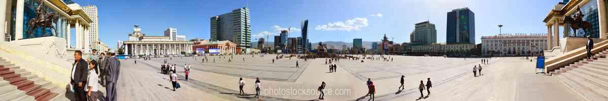 Sukhbaatar Square south