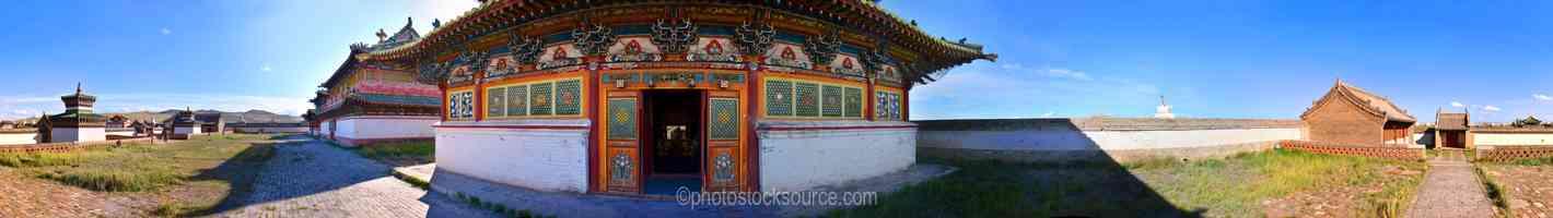 Erdene Zuu Monastery Temple