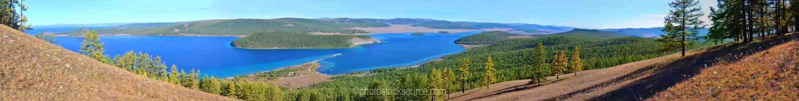 View of Lake Khosvsgol