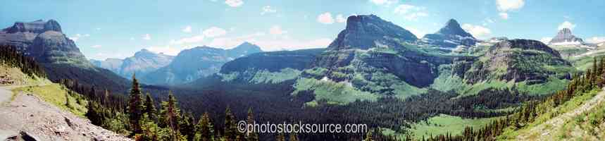 East of Logan Pass