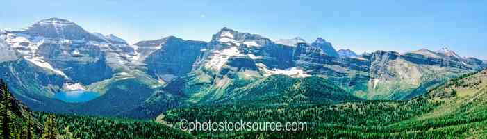 Mt. Custer and Lake Wurdeman