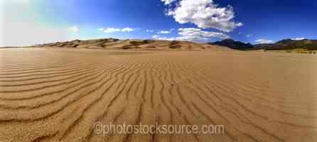 Sand Dunes Textures