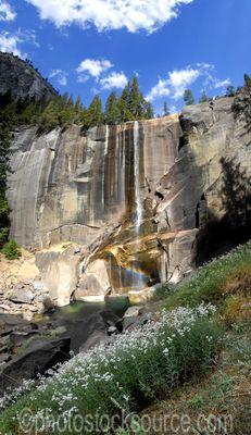 Vernal Falls and Rainbow