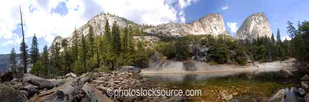 Liberty Cap Mirror Lake