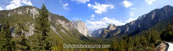 Yosemite Valley View