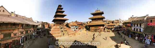Nyatapola and Bhairava Temples