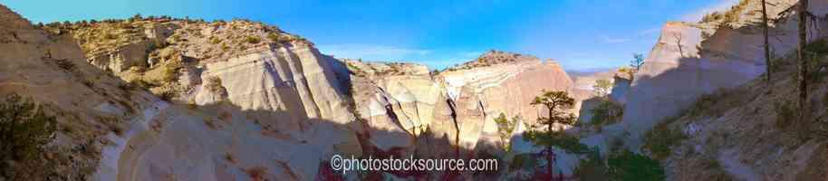 Tent Rocks From Summit