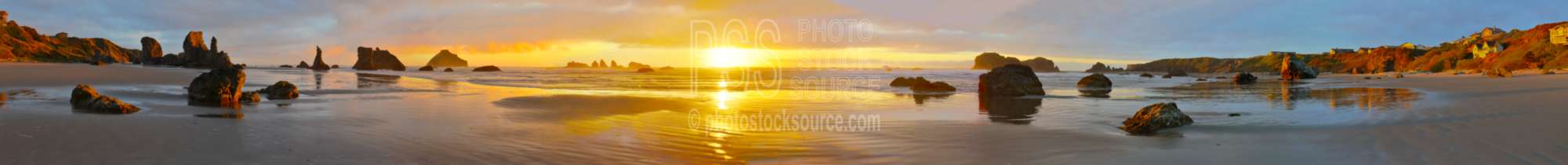 Sunset from Bandon Beach