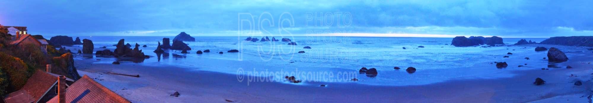 Dusk from Bandon Beach