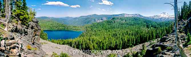 Harvey Lake, Mt. Jefferson