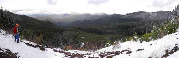 Nevergo Creek Canyon