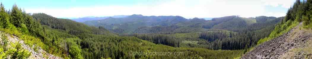 Saddleblanket Mountain View