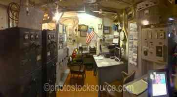 Lightship Columbia Radio Room