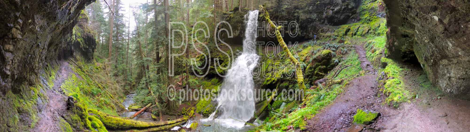 Upper Trestle Creek Falls