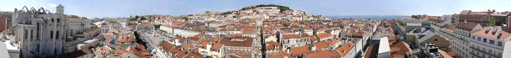Baixa from Alfama
