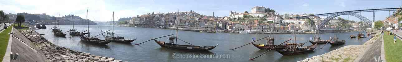 Oporto Wine Boats