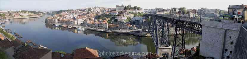 Oporto From Bridge Morning