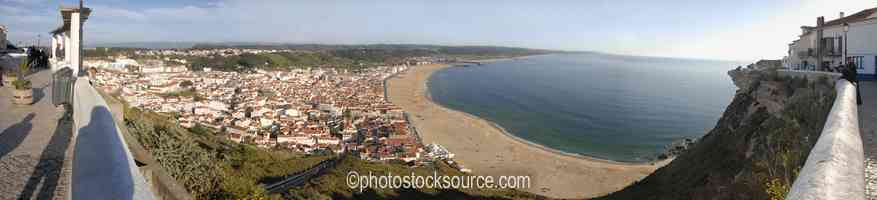 Nazare From Sitio Viewpoint