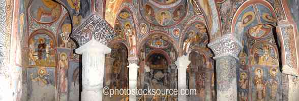 Dark Church Frescos