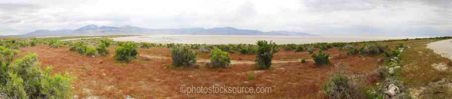 Salt Lake Rozel Bay