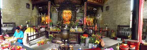Thien Hau Temple Shrine