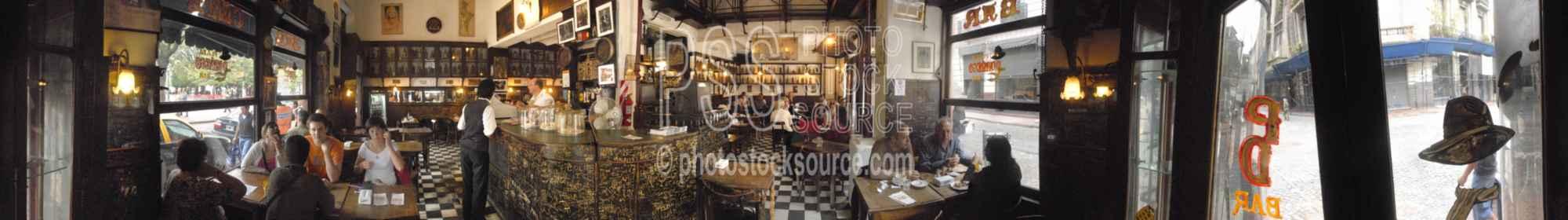 Bar Dorrego Historic Interior