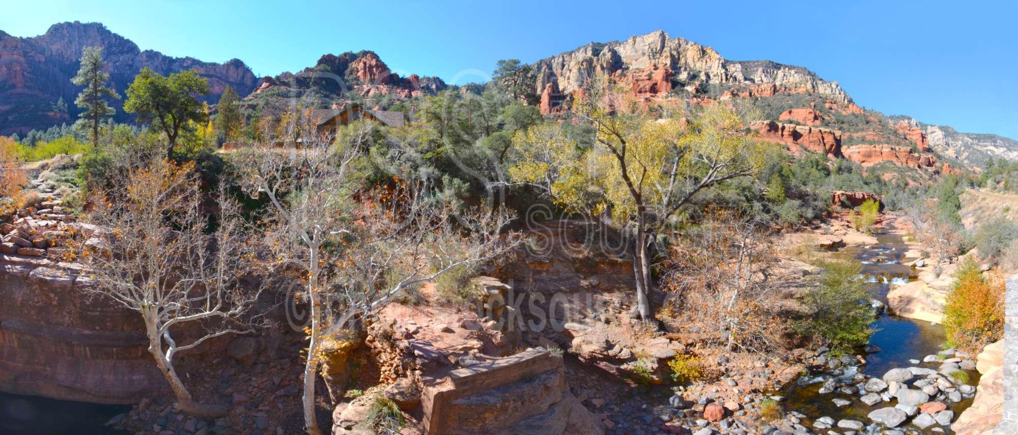 Rocks of Oak Creek Canyon