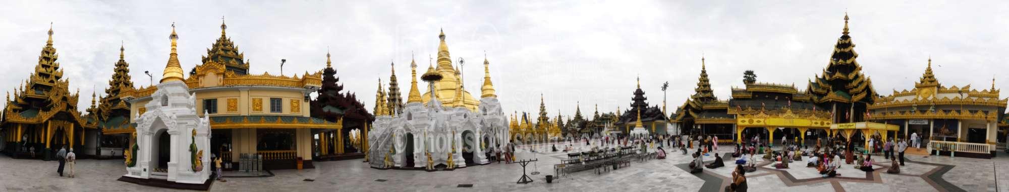 Shwedagon Pagoda Shrine