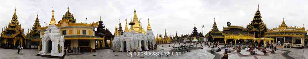 Shwedagon Pagoda Shrine