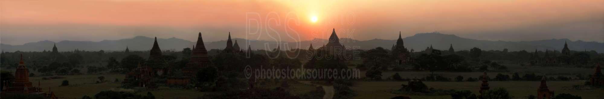 Shwe San Daw Sunset